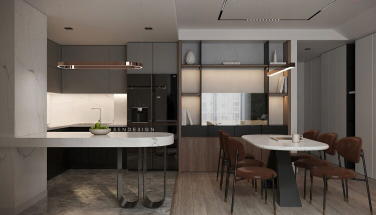 3D Interior Apartment 210 Scene File 3dsmax By Nguyen Can 3