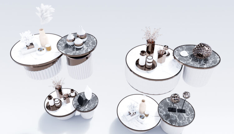 Luxury coffee table 3D models 51 Free download (1)