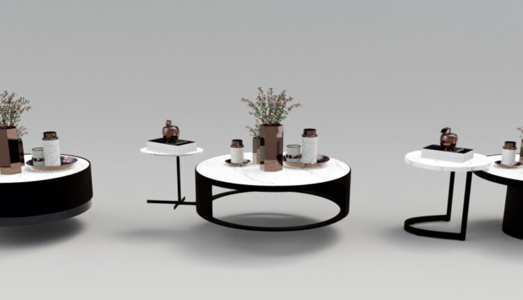 Luxury coffee table 3D models 57 Free download