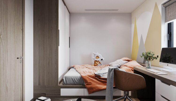 3D Interior Apartment 218 Scene File 3dsmax By Tran Long 11