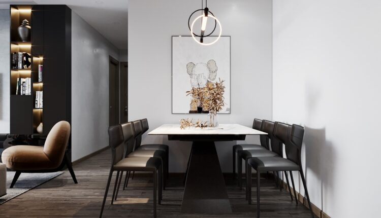 3D Interior Apartment 218 Scene File 3dsmax By Tran Long 6