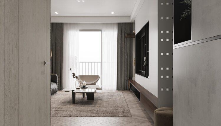 3D Interior Kitchen – Livingroom 229 Scene 3dsmax By Nguyen Ngoc Tung 4