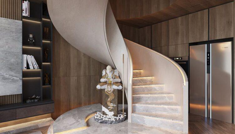 3D Interior Kitchen – Livingroom 232 Scene 3dsmax By Tuan An 6
