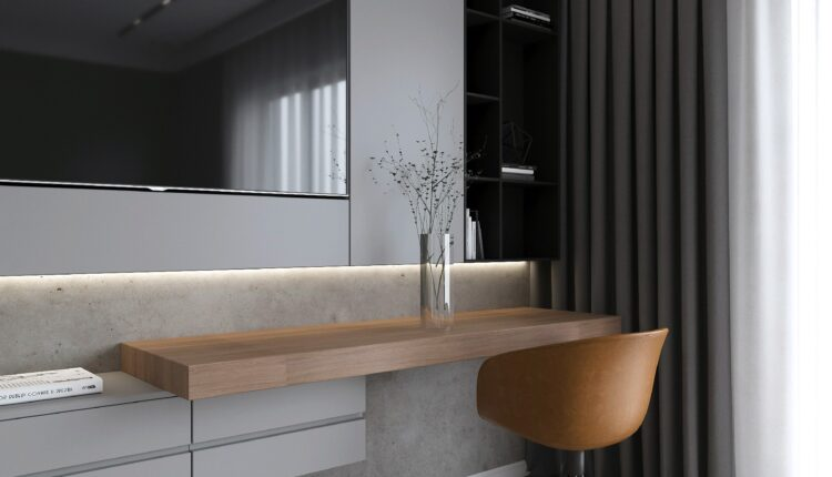 3D Interior Kitchen – Livingroom 233 Scene 3dsmax By Nguyen Ngoc Tung 3