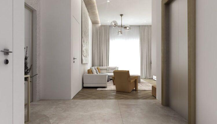 3D Interior Kitchen – Livingroom 234 Scene 3dsmax By Tu Le 5