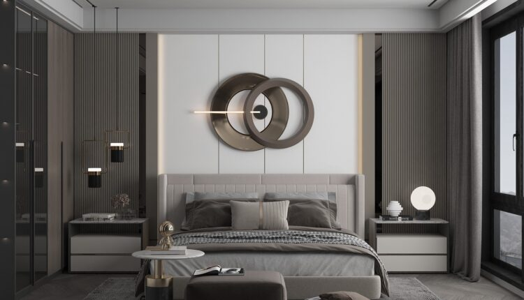 3D Interior Scenes File 3dsmax Model Bedroom 524 By Huy Hieu Lee