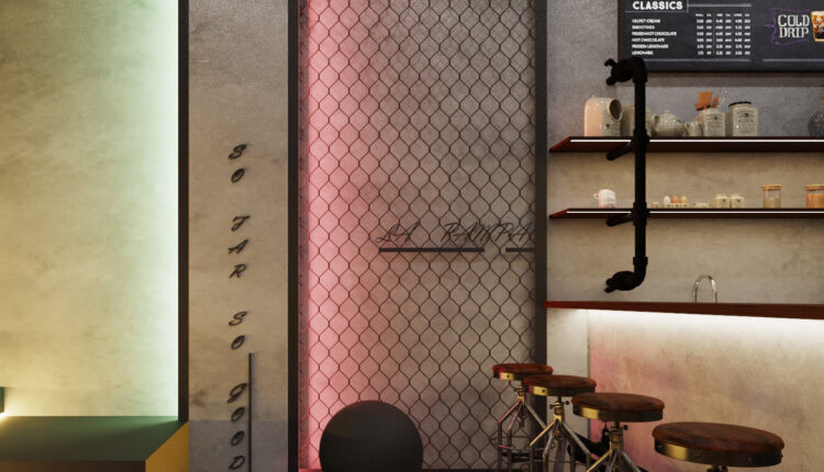 3D Model Interior Coffee 82 Scenes File 3dsmax By Le Nguyen Tuan 5
