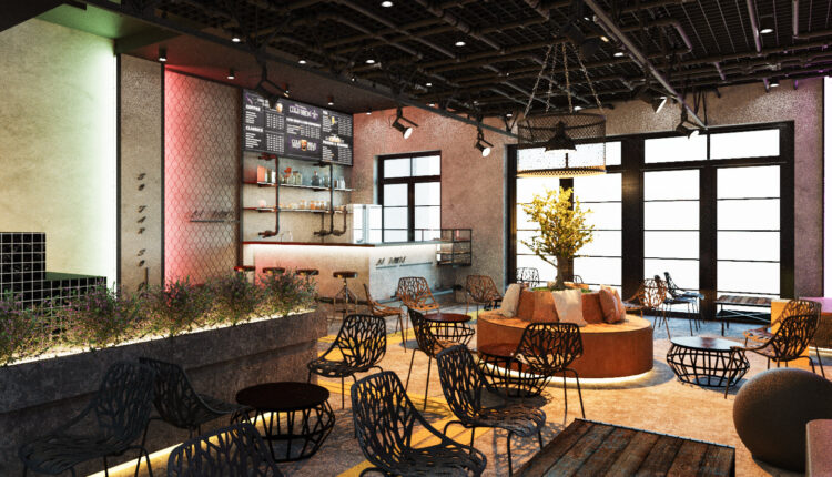 3D Model Interior Coffee 82 Scenes File 3dsmax By Le Nguyen Tuan 9