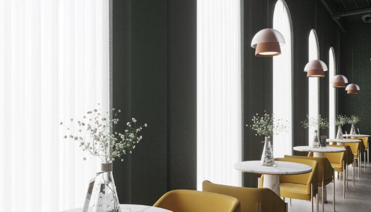 3D Model Interior Restaurant 80 Scenes File 3dsmax By Phuong Ha 5