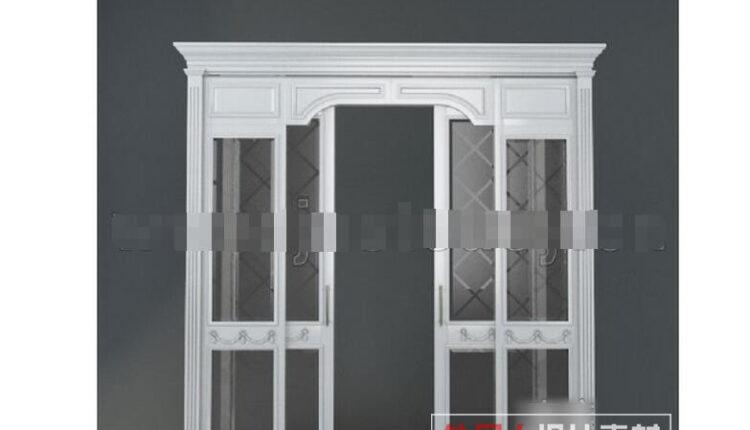 3d Door Model 110 Free Download