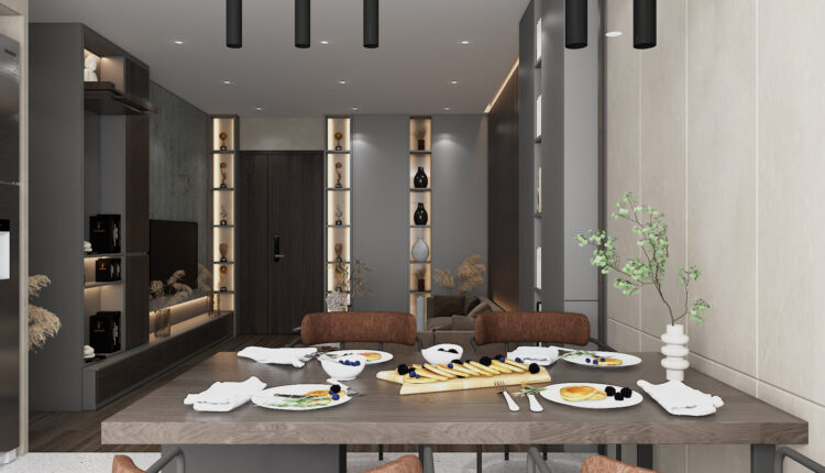 3D Interior Apartment 231 Scene File 3dsmax By Phu Nguyen 3