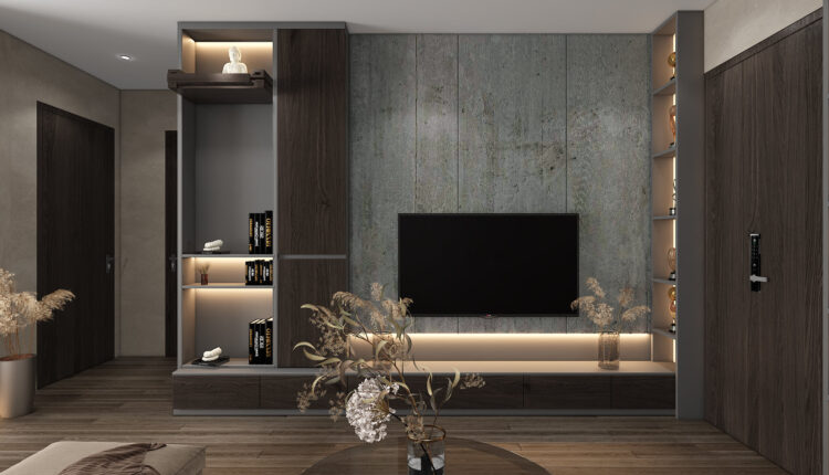 3D Interior Apartment 231 Scene File 3dsmax By Phu Nguyen 5