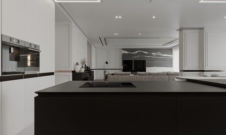 3D Interior Kitchen – Livingroom 235 Scene 3dsmax By Pham An 6