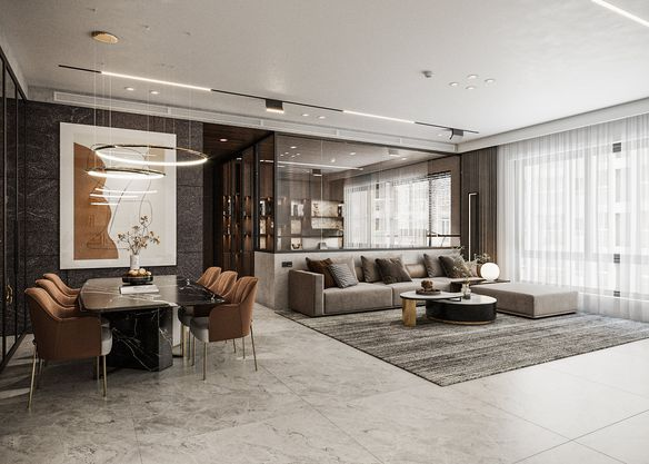 3D Interior Apartment 234 Scene File 3dsmax by Quoc Huy 1