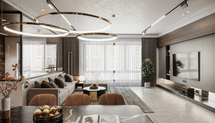 3D Interior Apartment 234 Scene File 3dsmax by Quoc Huy 5