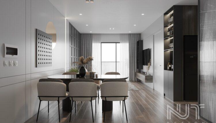 3D Interior Kitchen – Livingroom 255 Scene 3dsmax By Nguyen Ngoc Tung 2
