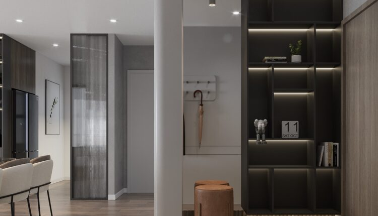 3D Interior Kitchen – Livingroom 255 Scene 3dsmax By Nguyen Ngoc Tung 4
