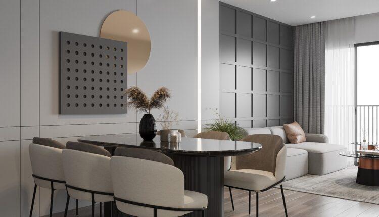 3D Interior Kitchen – Livingroom 255 Scene 3dsmax By Nguyen Ngoc Tung 5