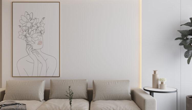 3D Interior Kitchen – Livingroom 256 Scene 3dsmax By Pham Hung 1