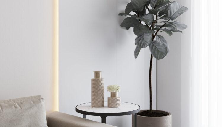 3D Interior Kitchen – Livingroom 256 Scene 3dsmax By Pham Hung 3