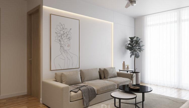 3D Interior Kitchen – Livingroom 256 Scene 3dsmax By Pham Hung 5