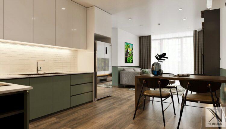 3D Interior Kitchen – Livingroom 257 Scene 3dsmax By Brian Vu 3