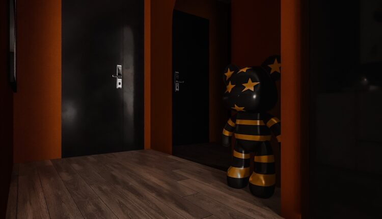 3D Interior Kitchen – Livingroom 261 Scene 3dsmax By Dung Chan 7