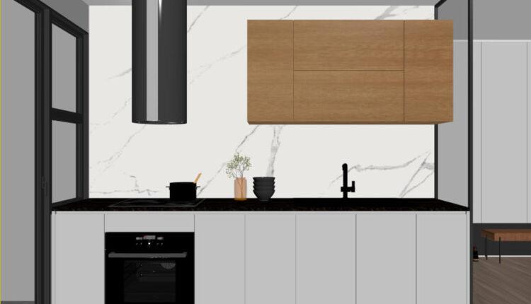 3D Interior Kitchen – Livingroom 267 Scene 3dsmax By Nguyen Ngoc Tung 3