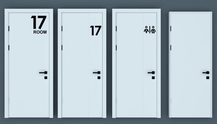 11055. Download Free 3D Door Models (1)