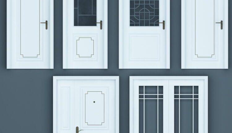 11055. Download Free 3D Door Models (2)