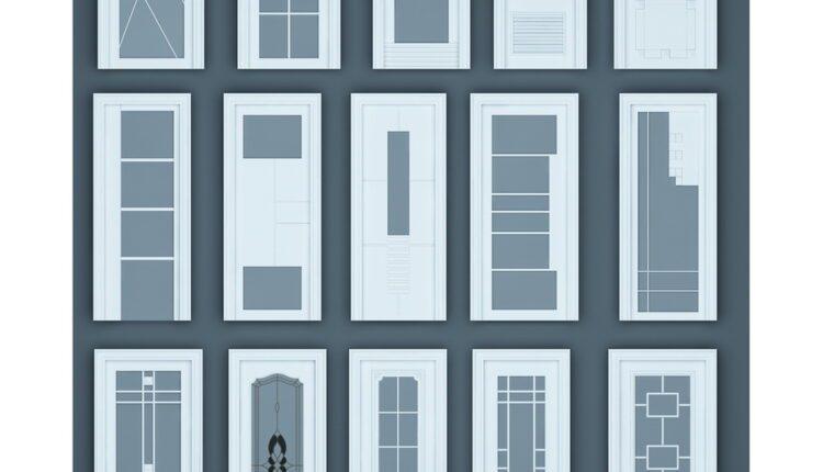 11055. Download Free 3D Door Models (3)