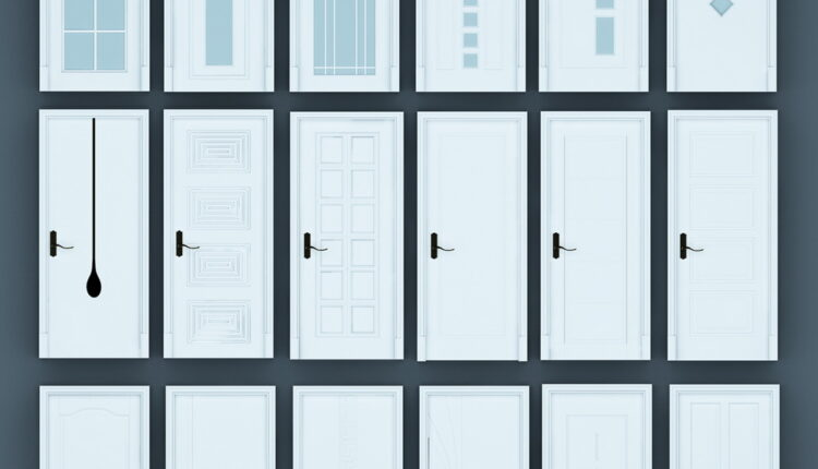 11055. Download Free 3D Door Models (4)