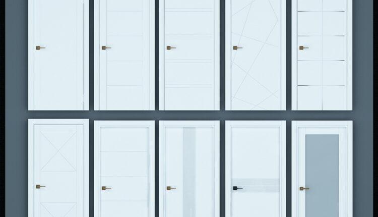 11055. Download Free 3D Door Models (6)