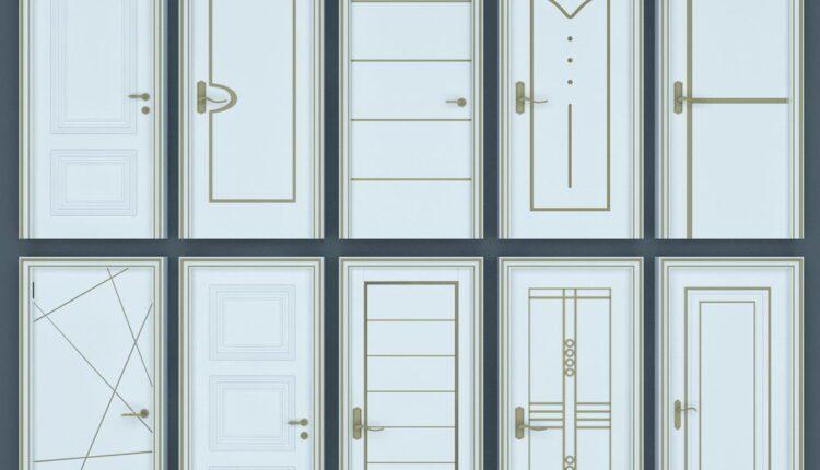 11065. Download Free 3D Door Models (1)