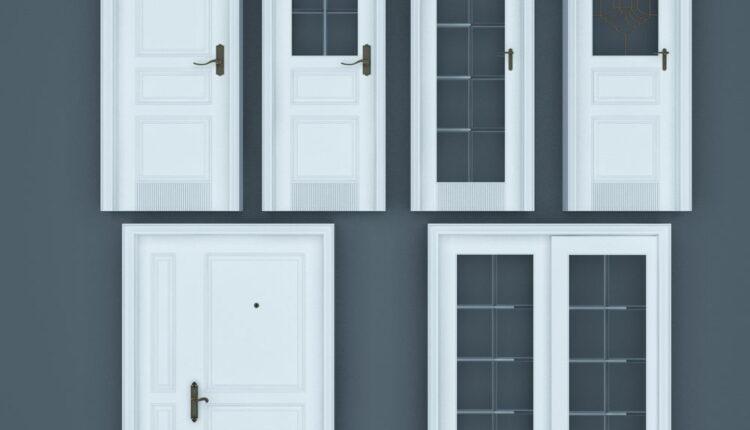 11065. Download Free 3D Door Models (3)