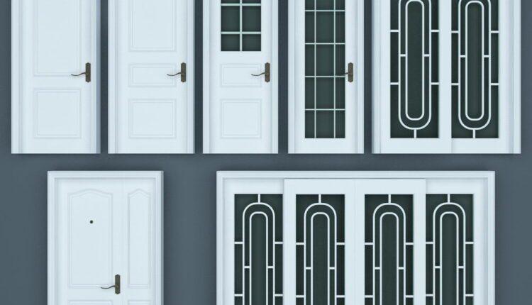 11067. Download Free 3D Door Models