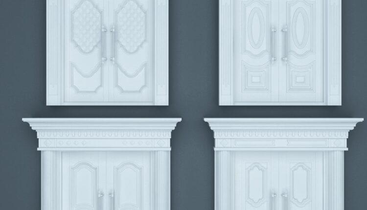 11068. Download Free 3D Door Models