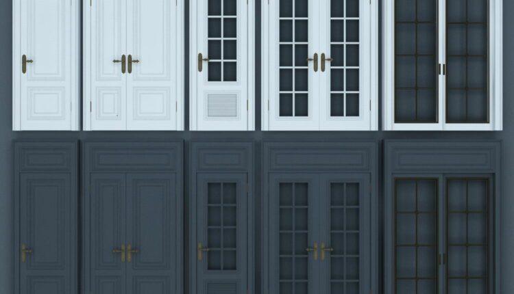 11069. Download Free 3D Door Models