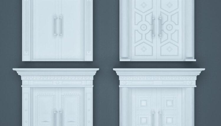 11070. Download Free 3D Door Models