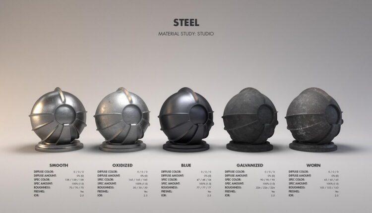 11091. Free Metal shader workflow Download by Jarrod Hasenjager