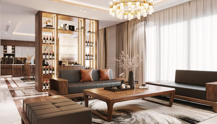 9611. Download Free 3D Interior Living room Model By Nguyen Xuan Hoat
