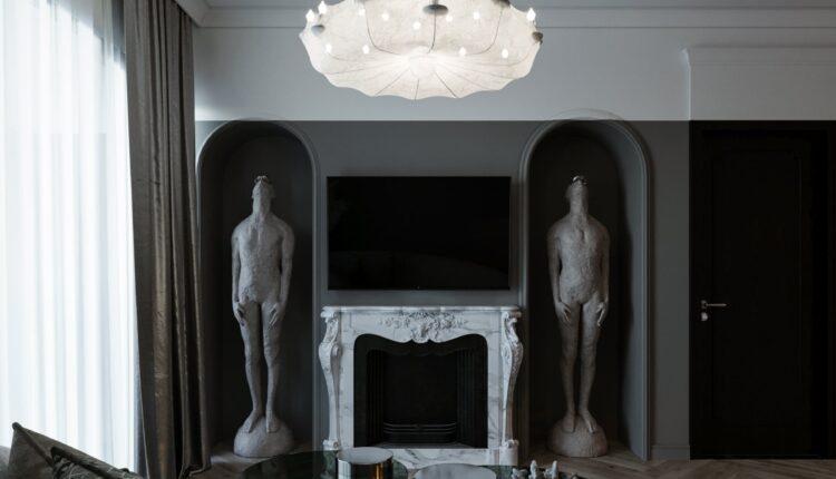 9619. Download Free 3D Interior Apartment Model by Hieu Tran