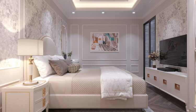 9690. 3D Interior BedRoom Model For Free Download by Tran Trung Hieu