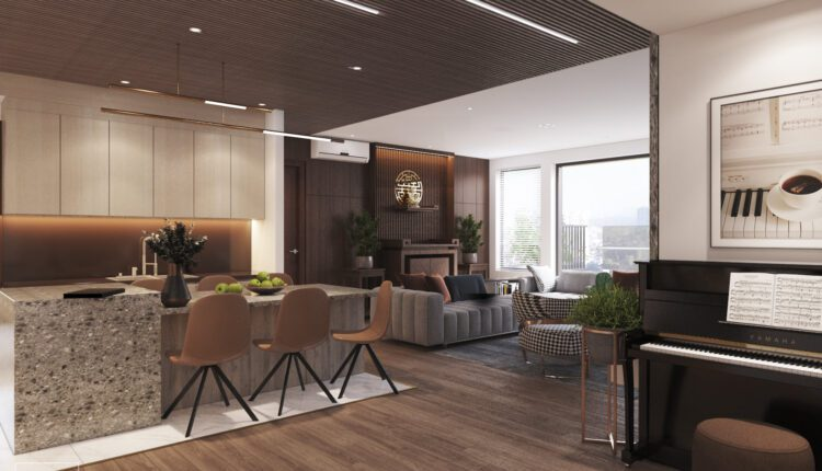 9698. 3D Interior Living Room Model Download by Hoang Thong